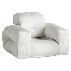 Hippo variálható fehér fotel, kültéri használatra - Karup
