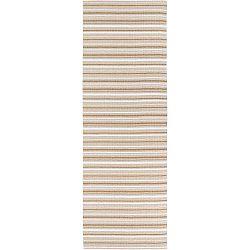 Hullo barna-fehér kültéri futószőnyeg, 70 x 150 cm - Narma