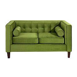 Jeronimo olívazöld kétszemélyes kanapé - Max Winzer