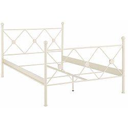 Johnson fehér fém ágy, 140 x 200 cm - Støraa