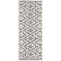 Kalora szürke futószőnyeg bel- és kültéri használatra, 70 x 200 cm - Bougari