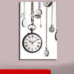Kapesní hodinky dekoratív falióra, 45 x 70 cm