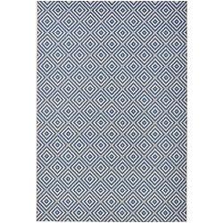 Karo kék kültéri szőnyeg, 200 x 290 cm - Bougari