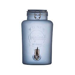 Kék csatos tejüveg adagoló csappal, 5 l - Kilner