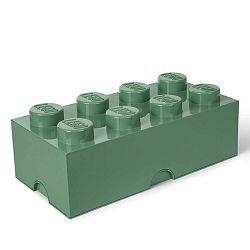 Khaki zöld tárolódoboz - LEGO®