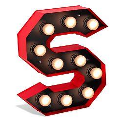 Lamp Floor S betű formájú fénydekoráció - Glimte