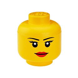 Lány minifigura fej tároló, Ø 24,2 cm - LEGO®