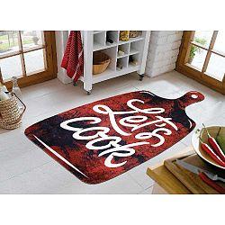 Lets Cook Red szőnyeg, 80 x 120 cm - Vitaus