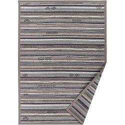 Liiva szürkésbézs, mintás kétoldalú szőnyeg, 160 x 230 cm - Narma