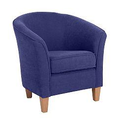 Livia kék fotel - Max Winzer
