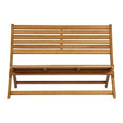 Lois barna kerti ülőpad, tömör eukaliptuszfából - WOOOD