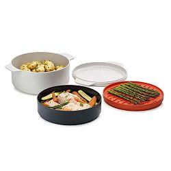 M-Cuisine 4 részes edény készlet mikrohullámos sütőben főtt ételekhez - Joseph Joseph