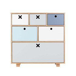 Magas pasztellszínű szekrény - Durbas Style