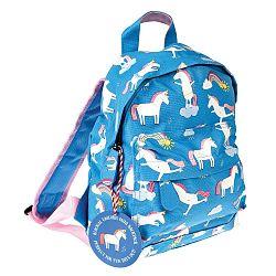 Magical Unicorn kék hátizsák egyszarvú mintával - Rex London