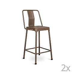 Magoye barna bárszék szett, 2 db-os - Design Twist