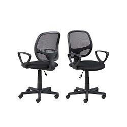 Major fekete gurulós irodai szék - Actona