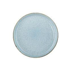 Mensa halvány kék agyagkerámia tányér, átmérő 27 cm - Bitz