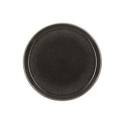 Mensa sötét szürke agyagkerámia tányér, átmérő 27 cm - Bitz