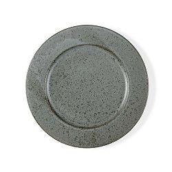 Mensa szürke agyagkerámia tányér, átmérő 27 cm - Bitz