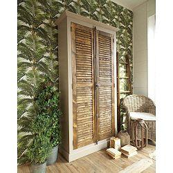 Midtown szekrény borovi fenyőfából, magasság 210 cm - Orchidea Milano