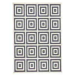 Mono szürke-fehér szőnyeg, 140 x 200cm - Hanse Home