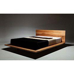 Mood olajkezelt égerfa ágy, 160 x 210 cm - Mazzivo