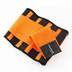 Narancssárga-fekete súlyemelő öv, méret L - InnovaGoods