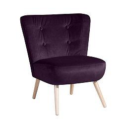 Neele Velvet lila fotel - Max Winzer