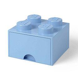 Négyszögeletes világoskék tároló doboz - LEGO®
