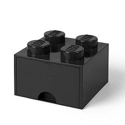 Négyszögletes fekete tárolódoboz - LEGO®