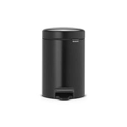 Newicon fekete pedálos szemeteskosár, 3 liter - Brabantia