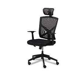 Nova fekete irodai szék - Furnhouse