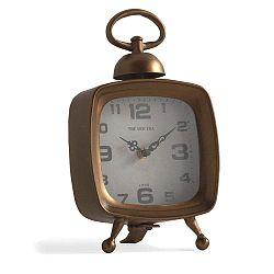 Old rézszínű asztali óra - Geese