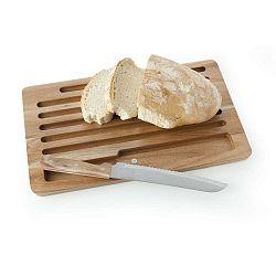 Pain vágódeszka kenyérvágó késsel - Brandani
