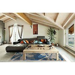 Palms Blue kék fokozottan ellenálló szőnyeg, 135 x 190cm - Floorita