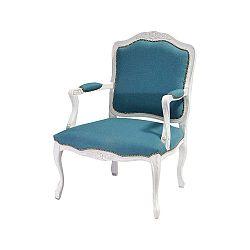 Patchwork Ocean kék-fehér szék - Evergreen House