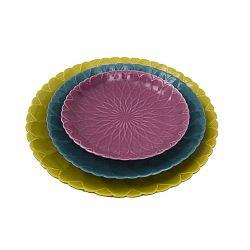 Petal Tris 3 darabos tányér készlet - Mauro Ferretti