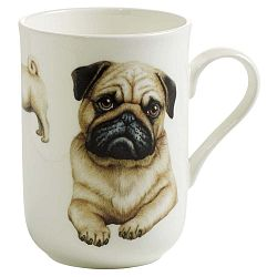 Pets Pug csontporcelán bögre, 330 ml - Maxwell & Williams