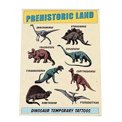 Prehistoric Land lemosható tetoválás szett, 2 lapos - Rex London