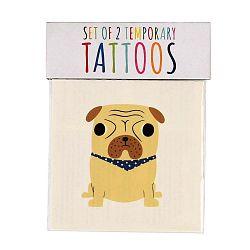 Red Dogs lemosható tetoválás szett, 2 db - Rex London