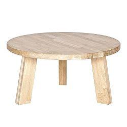 Rhonda dohányzóasztal tölgyfából, Ø 50 cm - De Eekhoorn