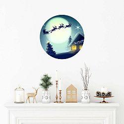 Santa Claus karácsonyi matrica - Ambiance