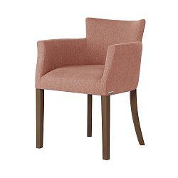 Santal rózsaszín bükk szék sötétbarna lábakkal - Ted Lapidus Maison