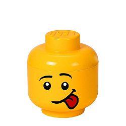 Silly sárga fejformájú tárolódoboz - LEGO®