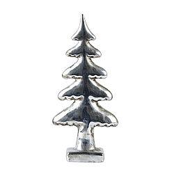 Silver fa dekoráció, 22 cm - KJ Collection