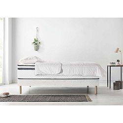 Simeo franciaágy matrac és paplan szett, 90 x 200 cm + 90 x 200 cm - Bobochic Paris