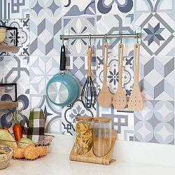 Spa 24 részes dekoratív falimatrica szett, 10 x 10 cm - Ambiance