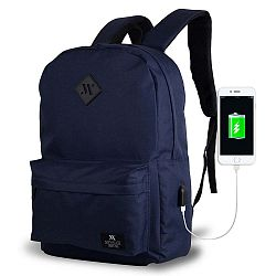 SPECTA Smart Bag sötétkék hátizsák USB csatlakozóval - My Valice