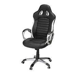 Speedy 2 fekete-fehér irodai szék - Furnhouse
