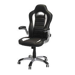 Speedy 3 fekete-fehér irodai szék - Furnhouse